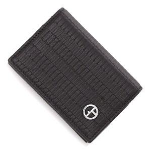 ジョルジオアルマーニ GIORGIO ARMANI カードケース 名刺入れ ブラック メンズ ygm744 yva7j 80001【あす楽対応_関東】【返品送料無料】【ラッピング無料】