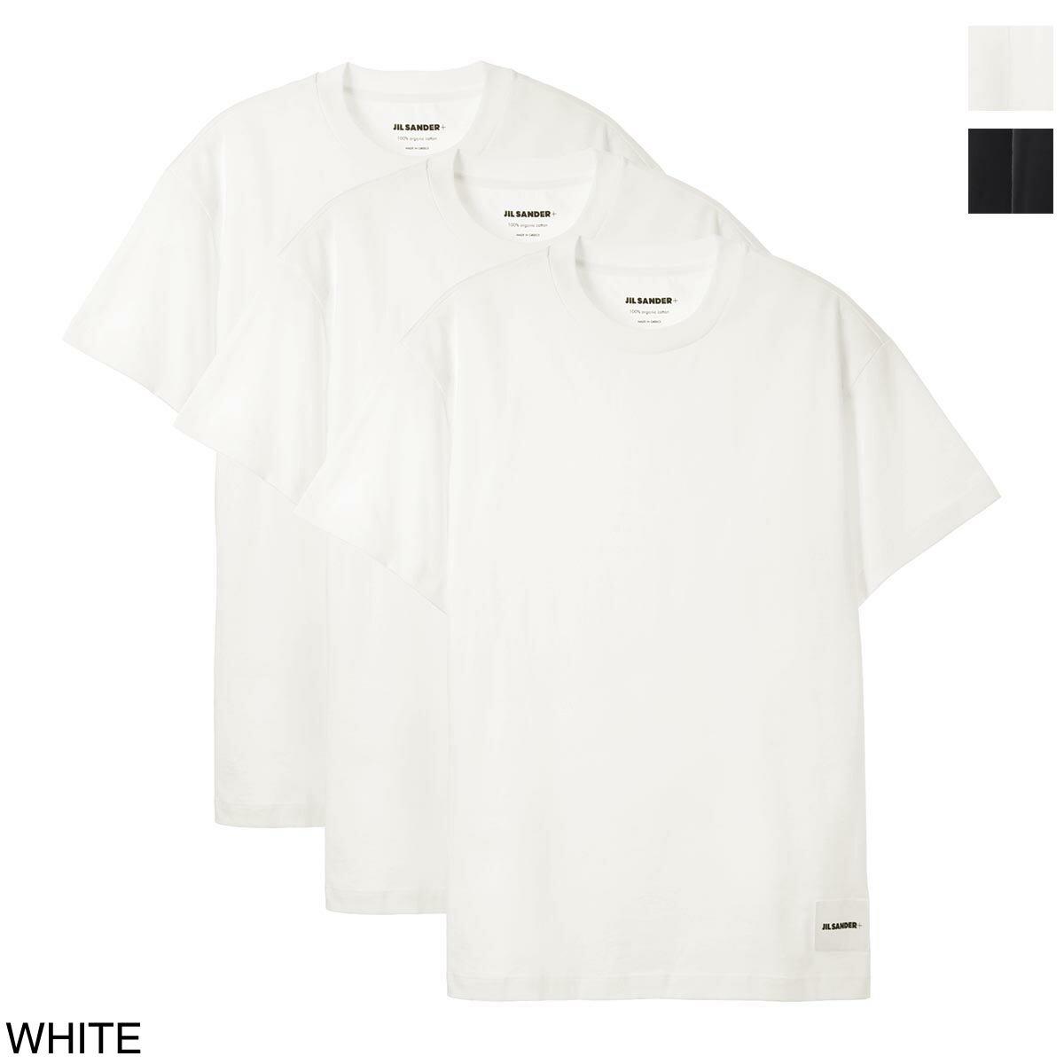 トップス, Tシャツ・カットソー  JIL SANDER T 3 jput706530 mt248808 100 JIL SANDER2021AW
