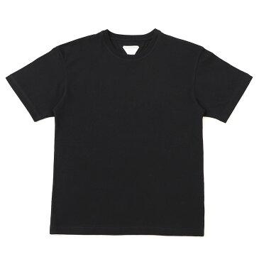 【訳あり】【Aランク】【アウトレット】ボッテガヴェネタ BOTTEGA VENETA クルーネック Tシャツ ブラック メンズ 630974 vf1u0 T-SHIRT SUNRISE LIGHT COTTON【あす楽対応_関東】【返品交換不可】