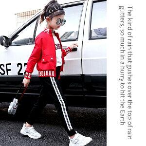 【送料無料】韓国子供服キッズセットアップジャージ3点セットトラックジャケットジョガーパンツ半袖Tシャツ子供服サイドラインスウェットHIPHOPダンス男の子女の子男児女児ジュニアこども服韓国ファッション110cm120cm130cm140cm150cm160cm