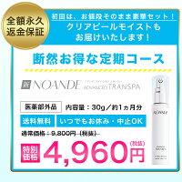【単品】NOANDE30g約1か月分ノアンデ30日間返金保証付送料無料ワキガ対策臭いニオイデオドラントわきがクリームトライアル