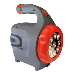 【即納】強力LEDサーチライト付きポータブルバッテリー LED ガードマン の 通販 【送料無料・保証付】 [LEDガードマン モバイルバッテリー 非常用電源 LEDライト 非常用ランタン]
