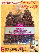 レーズンチョコたっぷり225gx2袋