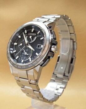 送料無料♪シチズン(CITIZEN)メンズエコ・ドライブ電波腕時計アテッサ(ATTESA)【AT9024-58E】(正規品・日本製)【02P14Nov13】