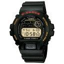 【7年保証】CASIO G-shock メンズ 男性用腕時計1995年7月に発売されて以来ロングセラーを続けるトリグラフモデル【DW-6900B-9】(国内正規品)