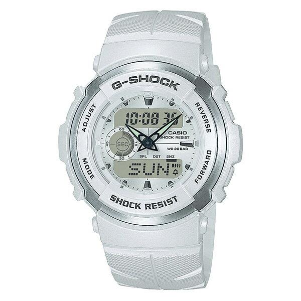 【7年保証】CASIO G-shock メンズ 男性用腕時計アナログ/デジタルコンビネーションシリーズ「G-SPIKE(Gスパイク)」【G-300LV-7AJF】(国内正規品)