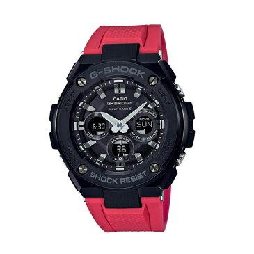 【7年保証】カシオ G-SHOCK メンズ ソーラー電波腕時計 男性用 Gスチール ミッドサイズ 品番:GST-W300G-1A4JF.