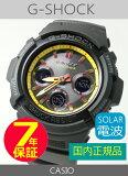 【7年保証】カシオ G-shock 男性用 ソーラー電波腕時計 AWG-M100SBY-1AJF casio メンズ