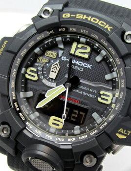 CASIOG-shockMUDMASTER(マッドマスター)メンズソーラー電波腕時計【GWG-1000-1AJF】(正規品)【02P23Aug15】