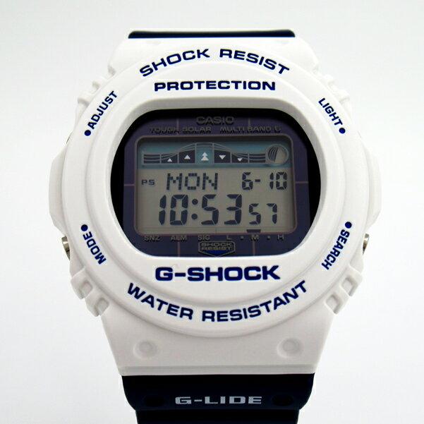 メンズ 腕時計 7年保証 カシオ G-SHOCK G-LIDE ソーラー 電波 GWX-5700SS-7JF 正規品 スポーツライン
