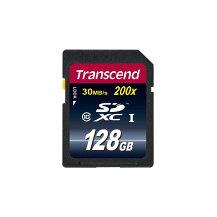 トランセンドSDXCカード128GBClass10TS128GSDXC10