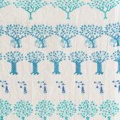 【送料無料】100cm MOTTAINAI アクアドロップ 森 ブルー 風呂敷(ふろしき)撥水加工/山田繊維/10228-302【10P03Dec16】【smtb-u】【送料込み】