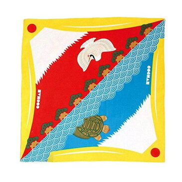 48cm 福コチャエ 富士山 キイロ 風呂敷(ふろしき)/山田繊維/20464-101【10P03Dec16】
