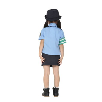 【Mcos】【KIDSモデル女性警察官】あす楽子供用制服ナース女性警察官婦警コスプレペアルックコスプレ衣装コスチューム仮装