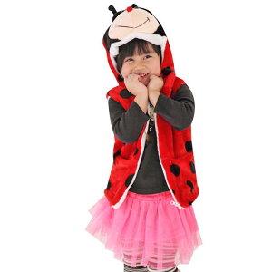 [i Party Time] [Fuwamoko Kids Best Ladybug] Tomorrow Children's Cosplay Costume Animal Event Best Animal Costume Costume Cosplay Costume