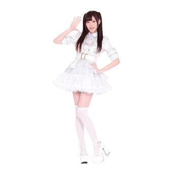 【A&TCollection】【アイドル道(ロード)】40%OFFコスプレアイドルAKB白コスプレ衣装コスチューム仮装