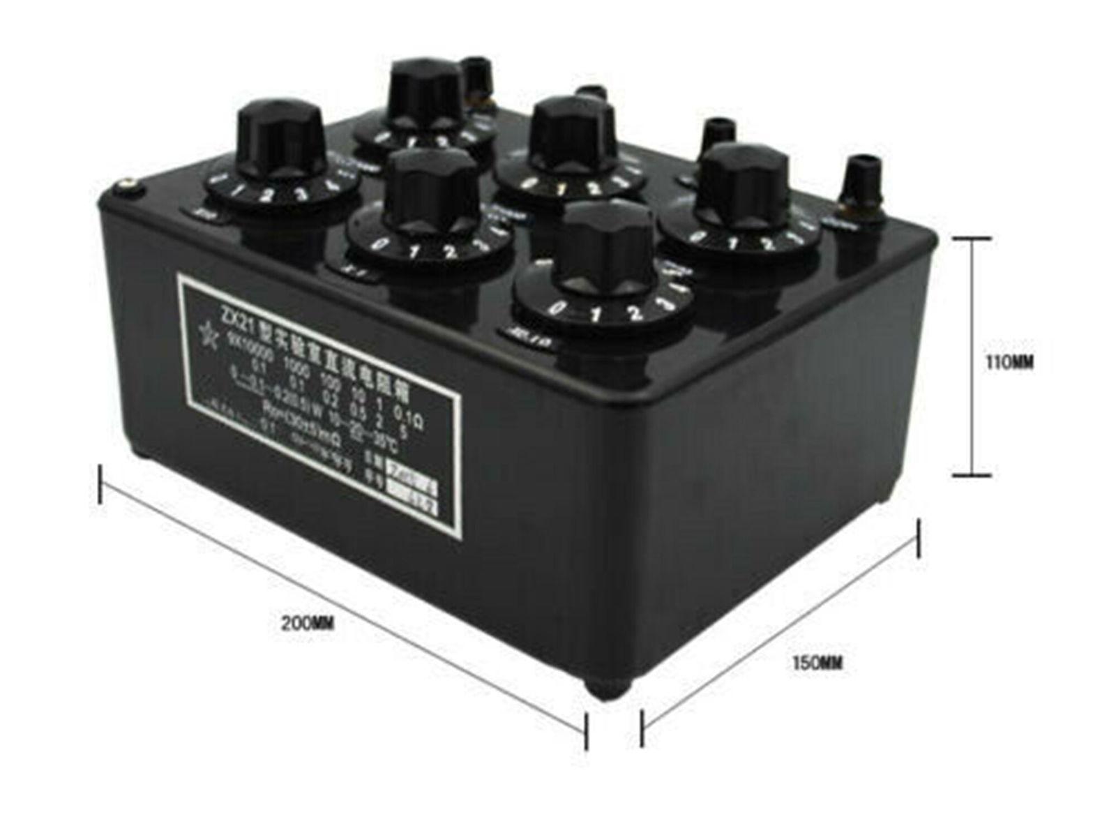 高品質の激安 ZX21B 精密ダイヤル式可変抵抗器 0.1Ω〜100KΩ 精度 0.1%, こたつ専門店 カグ楽 8c53cba3