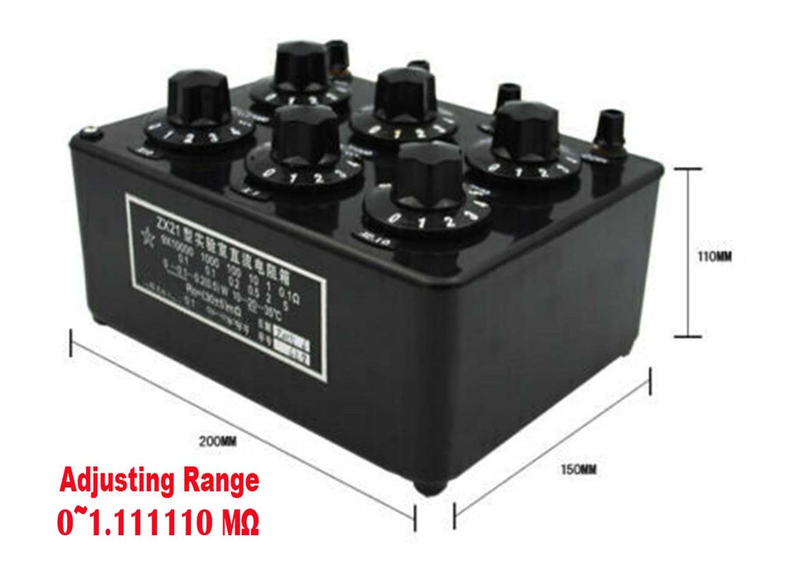 数量は多い  ZX21D 精密ダイヤル式可変抵抗器 1Ω〜100KΩ 精度 0.1%, 東京グラス激安センター bb248b1e