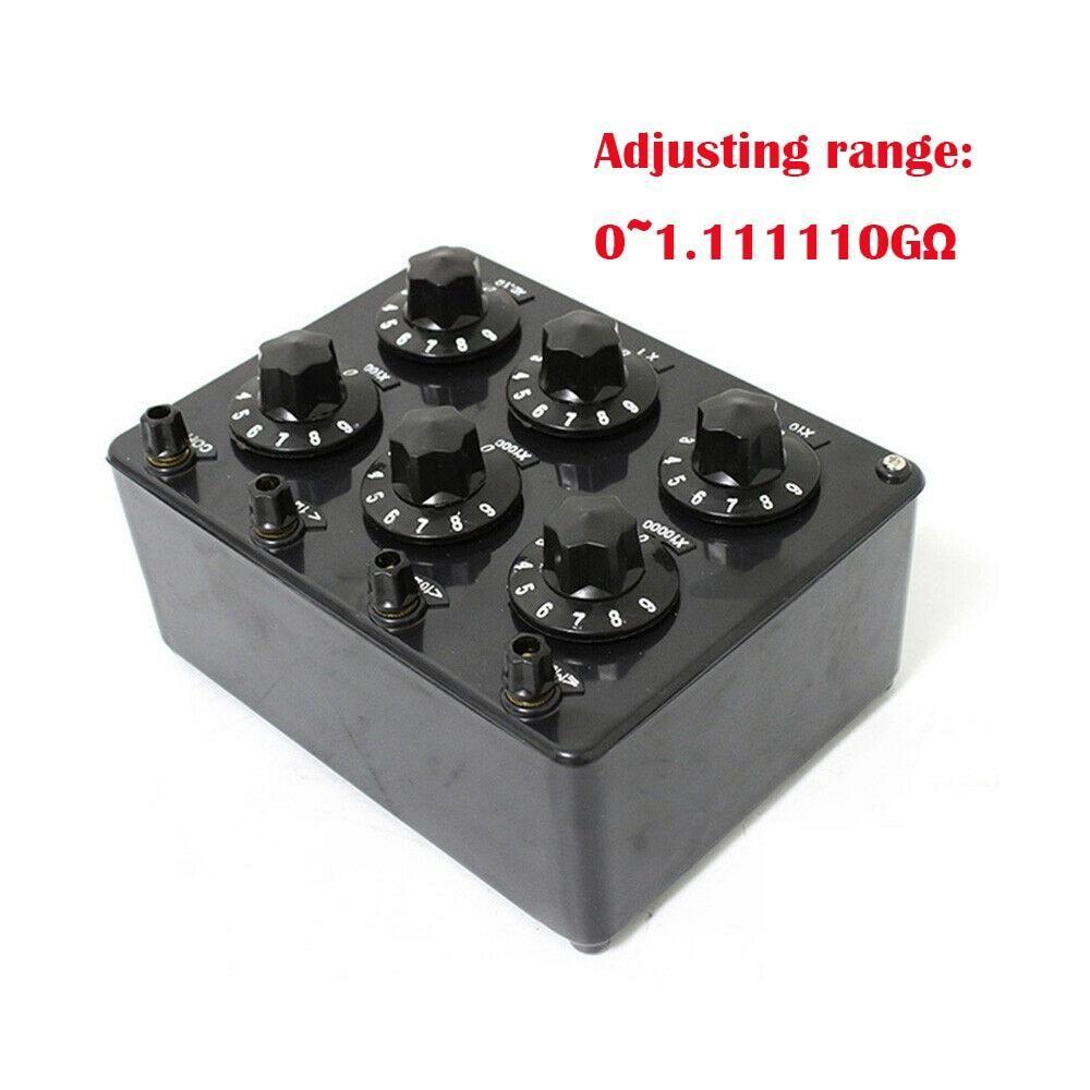 【美品】 ZX21G 精密ダイヤル式可変抵抗器 1KΩ〜1GΩ 精度 0.1%, カツシカク a6c63555