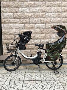 4WAYレインカバー自転車チャイルドシート迷彩柄広びろ〜防寒、防風、防水、日除け虫除けメッシュ付き【リアチャイルドシートカバー】【後ろ用】【リア用】【雨】【カモフラージュ柄】05P07Feb16