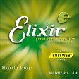 【ネコポス可能!】●エリクサーElixir フラットマンドリン弦 Medium (#11525) 【RCP】