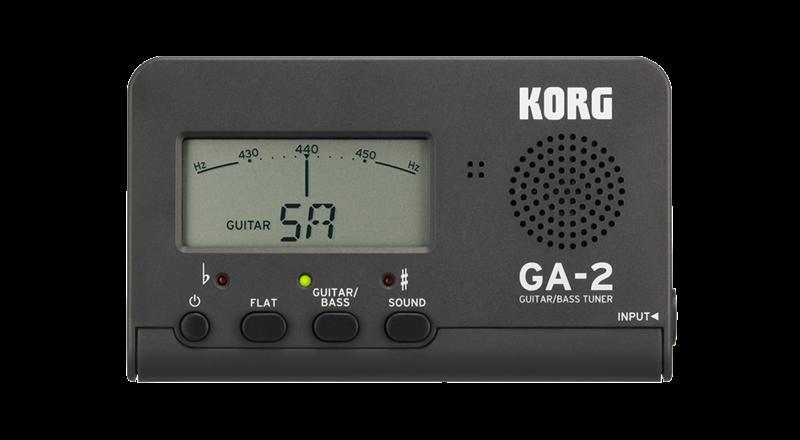 アクセサリー・パーツ, チューナー KORG GA-2-MG (Matte Gray)GuitarBass Tuner KK9N0D18PRCP