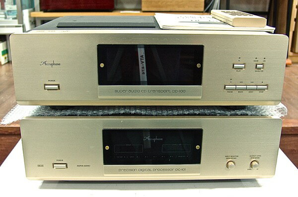 コンポ用拡張ユニット, CDプレーヤー  SACD DP-100DC-100