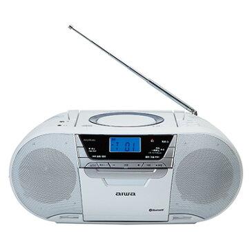 CR-BUE50 アイワ CDラジオ デジタルレコーダー ※3 【あす楽対応】【送料無料】 aiwa(アイワ)・再生スピードコントロール・Bluetooth・USBメモリー(録音/再生) 【KK9N0D18P】【RCP】