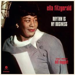 ジャズ, アーティスト名・E  Ella Fitzgerald Rhythm Is My Business LPKK9N0D18P