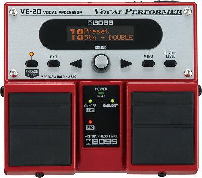 【在庫あり/即出荷】限定特価**BOSS VE-20【ボーカル用エフェクター】** 【RCP】
