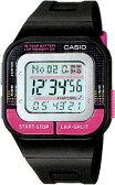 【送料無料】カシオ スポーツウォッチ 5気圧防水 デジタル 腕時計(SDB-100J-1BJF海外版)レディース 1/100秒ストップウォッチ 60ラップ 10年電池 ランニングウォッチ カシオ CASIO マラソン ランニング 時計 ランナー ウォッチ