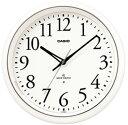 カシオ 電波時計 壁掛け時計 アナログ 掛け時計 おしゃれな ホワイト 白 文字盤 アラビア数字(CL11FB03...
