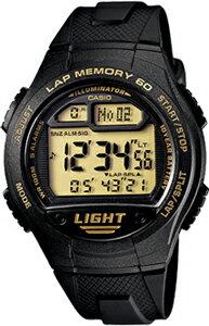 カシオ スポーツウォッチ 10気圧防水 メンズ デジタル ランニングウォッチ カシオ 腕時計 ブラック 黒 (WSD11AUP-405海外版) 距離計測機能 ストップウォッチ カウントダウンタイマー 60ラップ LEDライト付き マラソン ランニング 時計 ランニングウオッチ