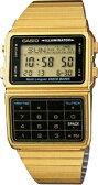 【送料無料】カシオ データバンク スポーツウォッチ メンズ デジタル 腕時計 ゴールド 金(DBC-611G-1JF海外版)1/100秒 ストップウォッチ タイマー LEDライト付き ランニングウォッチ CASIO 海外限定 マラソン ランニング 時計 ランナー ウォッチ