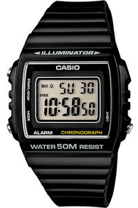 カシオ スポーツウォッチ 5気圧防水 メンズ デジタル 腕時計 おしゃれな ブラック 黒 (W13MYP-101BLK) ストップウォッチ 日付 曜日 カレンダー アラーム LEDライト付き ランニングウォッチ CASIO 海外限定 マラソン ランニング 時計 ランナーズウォッチ