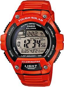 カシオ スポーツウォッチ 10気圧防水 ソーラー デジタル 腕時計 ランニングウォッチ (WSD13AUP-70...