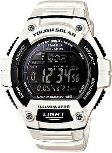 カシオ スポーツウォッチ ランニングウォッチ 10気圧防水 ソーラー デジタル 腕時計(WSD13AUP-703...