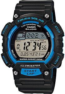 カシオ スポーツウォッチ 10気圧防水 ソーラー デジタル 腕時計 (S14FBP-302BLU海外...