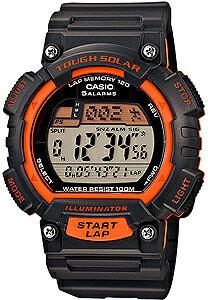 カシオ スポーツウォッチ 10気圧防水 ソーラー デジタル 腕時計(S14FBP-303ORG海外版...