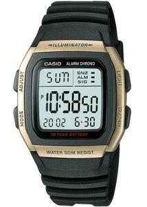 カシオ スポーツウォッチ 5気圧防水 メンズ デジタル 腕時計 ストップウォッチ (W11P-6506GLD) デュアルタイム アラーム カレンダー 10年電池 LED ライト付き ランニングウォッチ カシオ CASIO 海外限定 マラソン ランニング 時計 アウトドアウォッチ