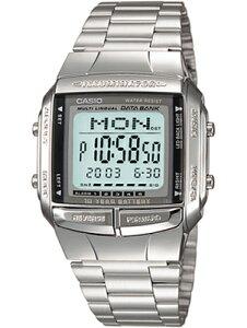 カシオ スポーツウォッチ データバンク メンズ デジタル 腕時計 メタル ステンレスバンド (DB14OC02) ストップウォッチ カウントダウンタイマー 10年電池 LEDライト付き ランニングウォッチ カシオ マラソン ランニング 時計 アウトドアウォッチ