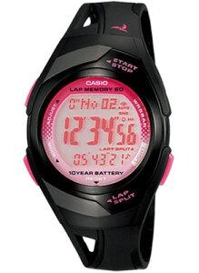 カシオ スポーツウォッチ 5気圧防水 メンズ デジタル 腕時計 ブラック 黒 (PH10DC02BKPK) 距離計測機能 60ラップ ストップウォッチ カウントダウンタイマー 10年電池 LED ライト付き ランニングウォッチ カシオ CASIO マラソン ランニング 時計 ランナー ウォッチ