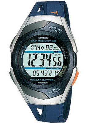 カシオ スポーツウォッチ 5気圧防水 メンズ デジタル 腕時計(PH04OC02BUSL)距離計測機能 ストップウォッチ 60ラップ 10年電池 LEDライト付き ランニングウォッチ CASIO ランナーズ マラソン ランニング 時計 ランナー ウォッチ