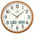 【送料無料】カシオ 電波時計 壁掛け時計 デジタル アナログ 掛け時計 アラビア数字(CL15JU50) 日付・曜日 カレンダー 温度 湿度計付き カシオ CASIO 電波時計 掛け時計