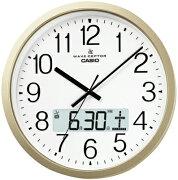 デジタル アナログ 掛け時計 カレンダー アラビア デュアル プログラム