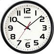 【送料無料】カシオ 電波時計 壁掛け時計 アナログ 掛け時計 アラビア数字 ブラック 黒(CL15JU60BLK) カシオ CASIO 電波時計 掛け時計