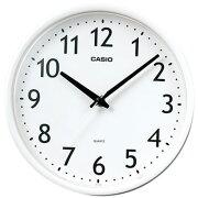 スタンダード アナログ 掛け時計 アラビア ホワイト