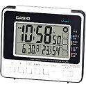 カシオ 電波時計 置時計 デジタル 目覚まし時計 日付・曜日 カレンダー アラーム スヌーズ(CL16SP01) 温度 湿度計 LEDライト付き 大型液晶 カシオ CASIO 電波時計 目覚まし時計