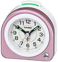 カシオ トラベルクロック コンパクト 置き時計 アナログ 目覚まし時計 おしゃれな ピンク(SCL16FB22PNK)アラビア数字 アラーム スヌーズ機能 ライト付き CASIO 旅行用 目覚まし時計