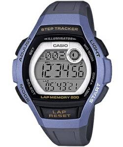 7df40990ce カシオ スポーツウォッチ 10気圧防水 レディース デジタル 腕時計 ブルー 青 (LSD19FB05BLU) 歩数計測